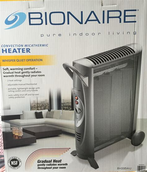 Costco Room Heater by Bionaire Micathermic Convection Heater Harvey Cares