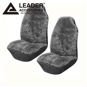 Fitted Car Seat Covers Australia Seat Cover Universal 2pc Front Australian Sheepskin
