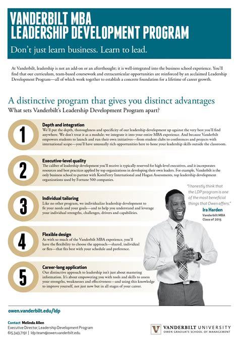 Mba Leadership Development Program Europe vanderbilt mba leadership development program brochure