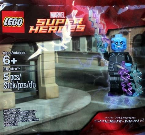 Lego Amazing Spider 2 Electro Misp amazing spider 2 electro polybag found brickset lego set guide and database