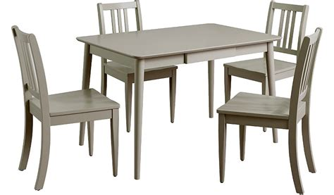 george home dining table 4 chairs grey dining