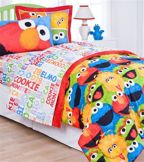 elmo toddler bed set 63 best images about sesame street bedroom on pinterest