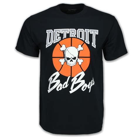 2733 Boys Tshirt detroit pistons authentic bad boys t shirt detroit athletic