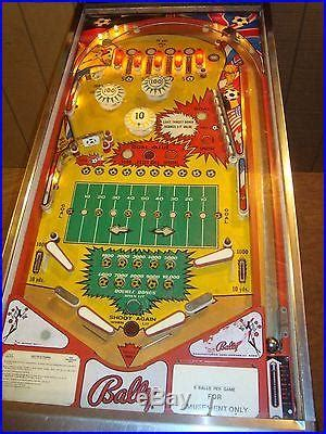 bally bingo pinball machines for sale kems