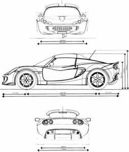 Lotus Elise Dimensions The Blueprints Blueprints Gt Cars Gt Lotus Gt Lotus
