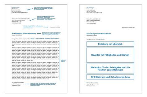 Aufbau Anschreiben Fuhrungskraft das bewerbungsanschreiben inhalt aufbau formulierungen tipps