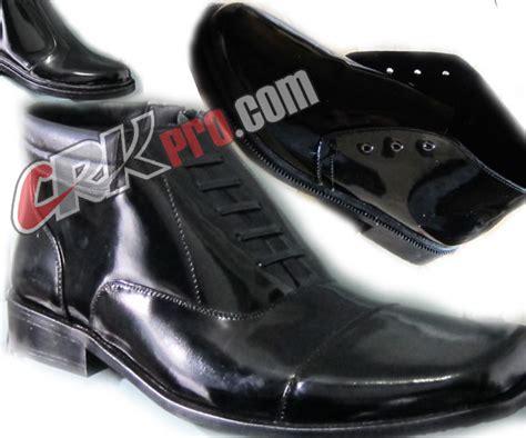 Kaos Pol Pp For One sepatu pdh model kulit kiwi polisi pamong praja polri
