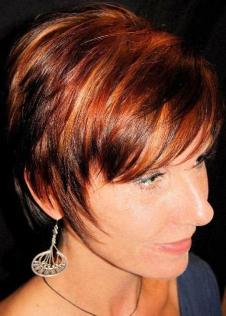 very short hairstyle with highlights lift and a bump on 20 best short hair with highlights