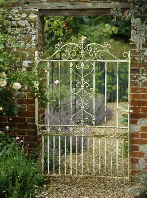 Iron Garden Gates by Iron Garden Gates On Metal Garden Gates Metal