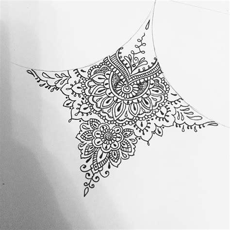 mandala tattoo under chest resultado de imagen para moth sternum tattoo todo