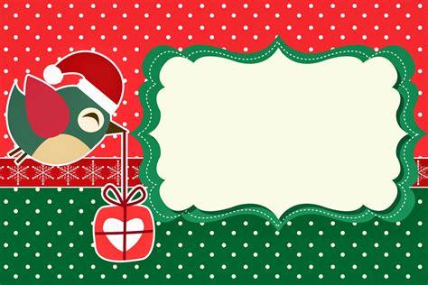imagenes de navidad para invitaciones pajaritos de navidad invitaciones para imprimir gratis