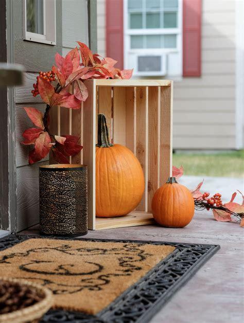 decorare cassette di legno decorare in autunno con le cassette di legno ispiratevi