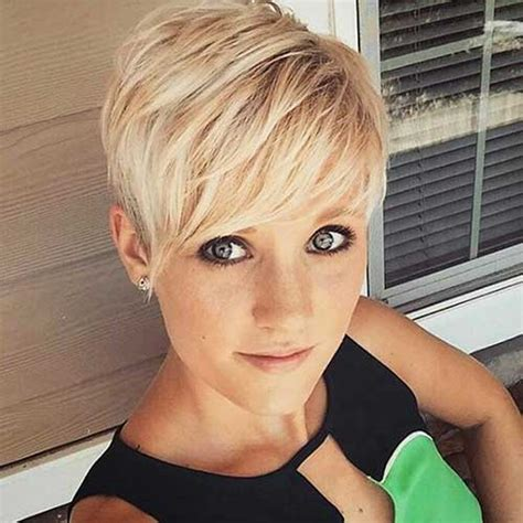 do pixie cuts look good with big foreheads perfect short blonde hairstyles you must see short