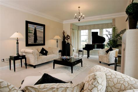 The Living Room Furniture Store Glasgow - classic contemporary family home in scotland