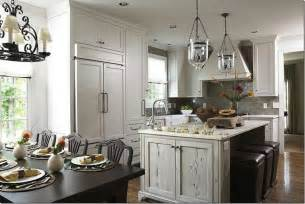 distressed island kitchen distressed kitchen island transitional kitchen wolter interiors