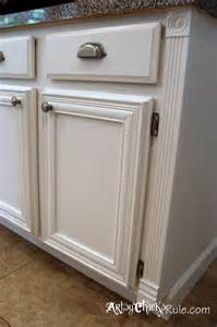 Kitchen cabinets painted in annie sloan chalk paint old white pure
