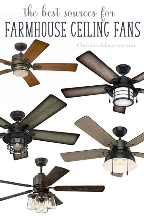 Where To Buy Farmhouse Ceiling Fans Christinas