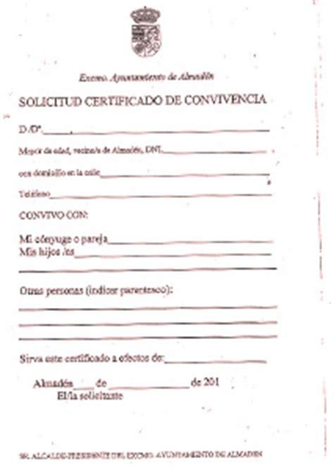 modelo de certificado de convivencia modelos de curriculum modelo de certificado de convivencia en peru comun ley