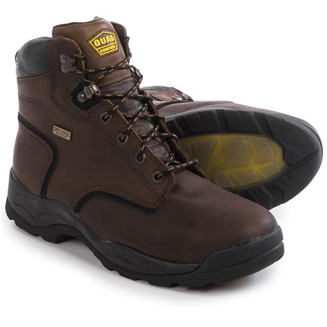 comfortable steel toe boots for men lacrosse quad comfort 4x6 work boots for men save 42