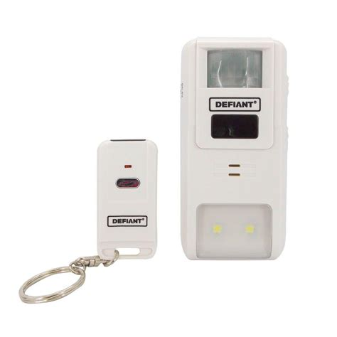 defiant home security motion sensing alarm with remote se