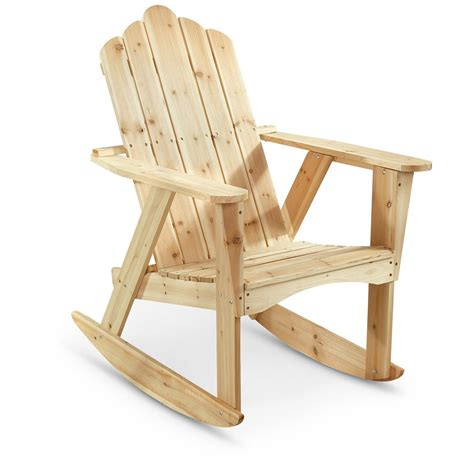 castlecreek adirondack rocking chair 657804 patio furniture at sportsman s guide
