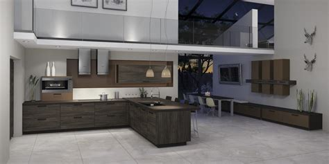 Kitchens With Grey Cabinets moderne k 252 che kieppe