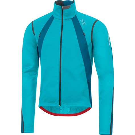 blue cycling jacket gore bike wear oxygen gws jacket men s backcountry com