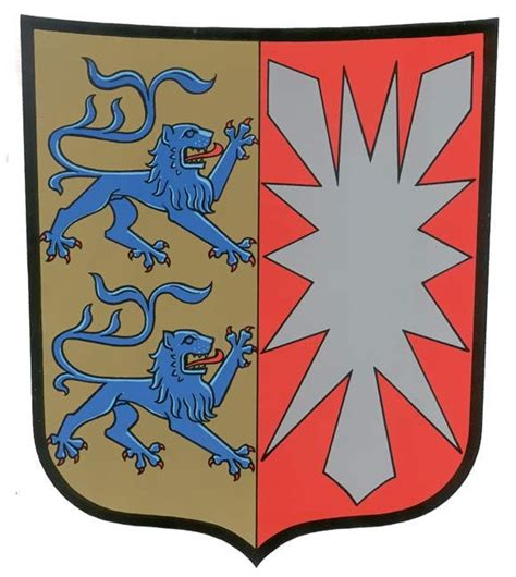 Schleswig Holstein Germany Birth Records Schleswig Holstein Coat Of Arms Where My Is From Germany Here We Come