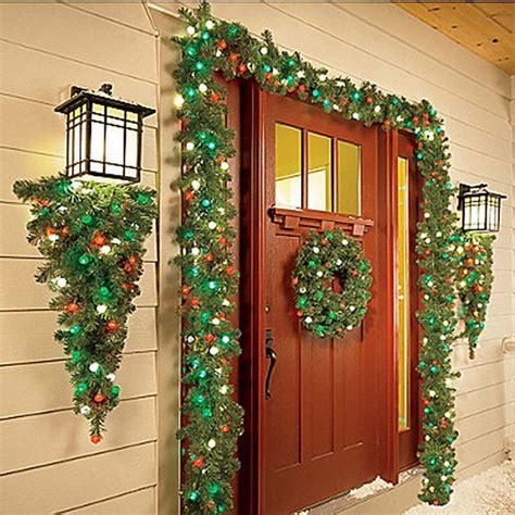 exterior christmas decorating net 50 fresh festive entryway decorating ideas family net guide to family