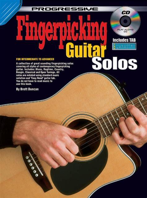 learn great guitar solos progressive fingerpicking guitar solos