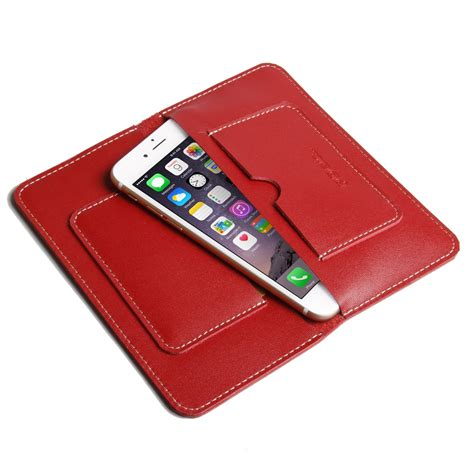 best iphone 7 plus leather sleeve wallet pdair pouch flip