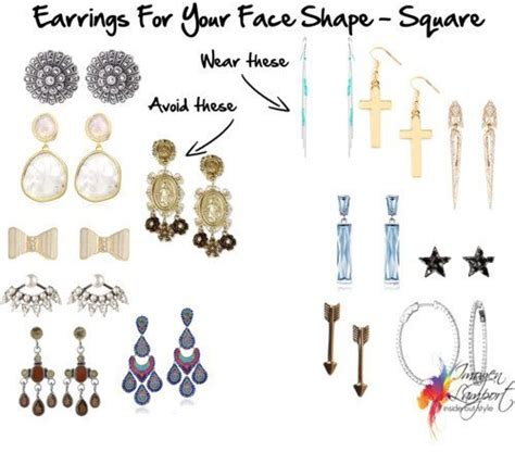 hair cuts and earring tips choosing earrings that suit your square face shape