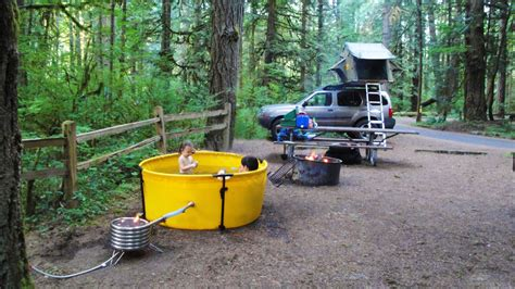 pit water heater this portable tub makes any cing trip a luxurious
