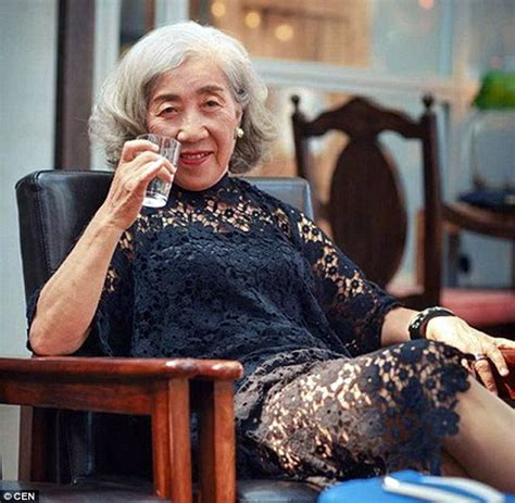 hairstyles for 80 year old grandmother of the bride meet the 80 year old chinese woman who amazes internet