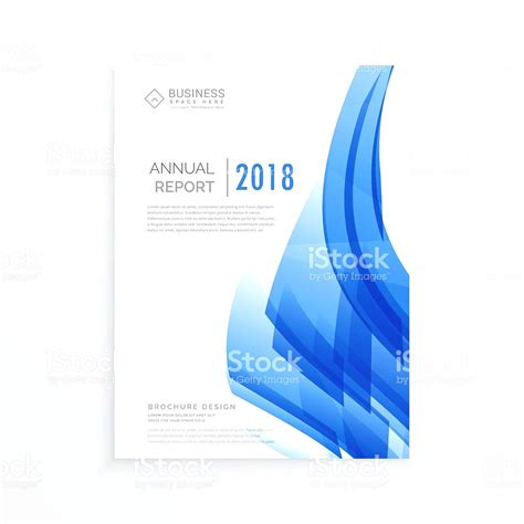 Business Report Front Cover Template