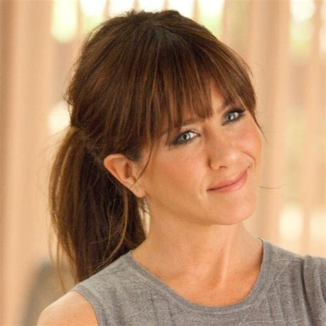 hair in pony tail with bangs 50 extraordinary ways to rock long hair with bangs hair