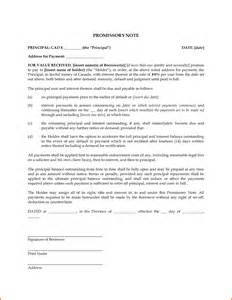 Promissory Note Template Word by Doc 400530 Promissory Note Word Template Promissory