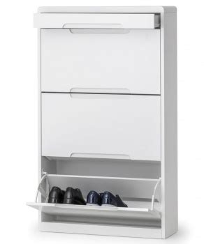 fully assembled shoe cabinet abdabs furniture manhattan high gloss white shoe cabinet