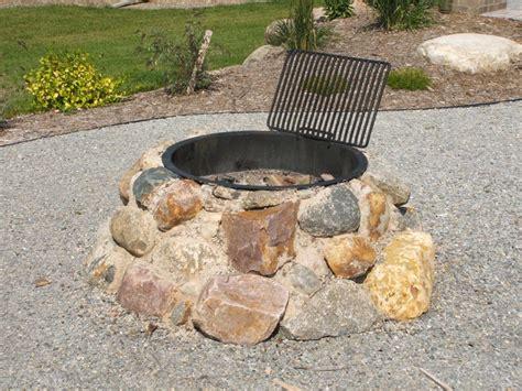 backyard rock fire pit ideas stone fire pit construction fire pit design ideas