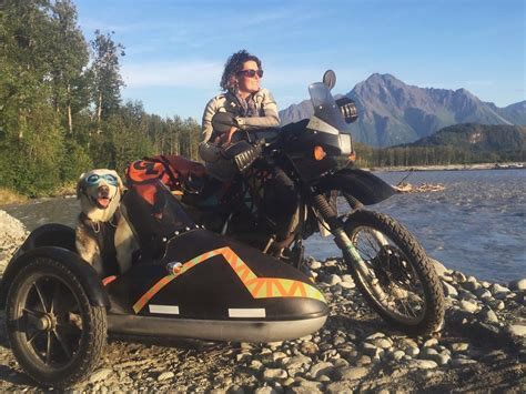 Dogs Motto i motorbiked 6 000 to alaska with my and we re