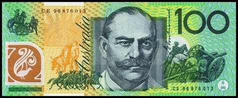 printable fake money australia australian one hundred dollar banknotes