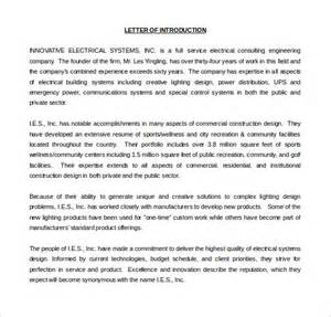 financial advisor introduction letter templates 6 letter of introduction templates free sle exle