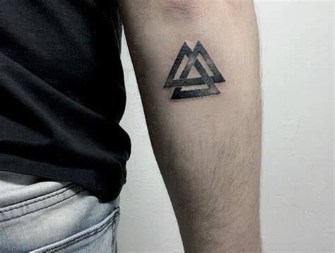 valknut tattoo meaning viking designs ideas and meanings me now