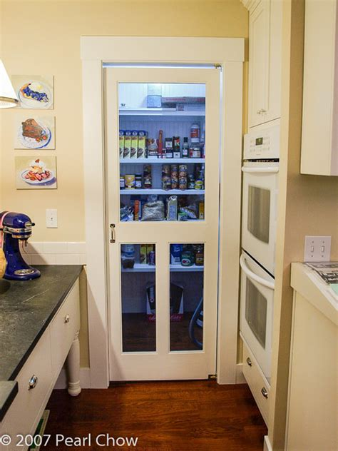 Room Dividers pantry with screen door
