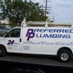 Plumbing In San Diego by Preferred Plumbing Plumbing 3733 El Cajon Blvd Normal