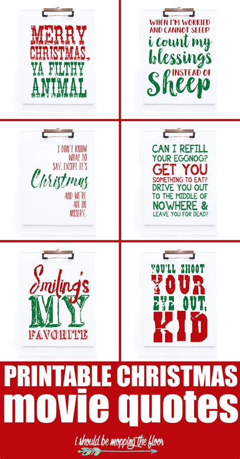 printable christmas movie quotes quiz best of the weekend party little miss celebration