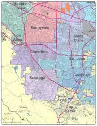 map of cupertino california editable cupertino ca city map illustrator pdf