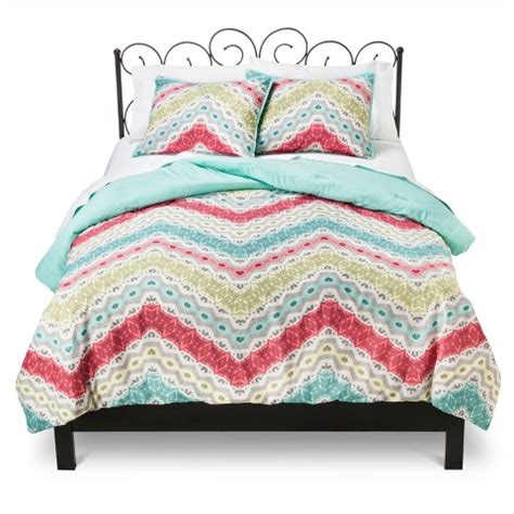 xhilaration comforter set xhilaration chevron comforter set target