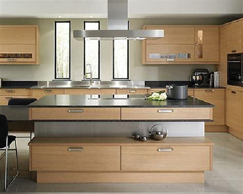 cucina moderna legno foto esempio cucina moderna in legno su misura di