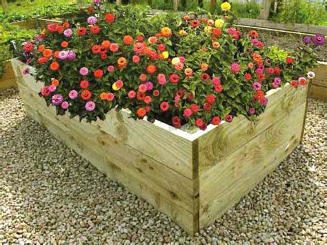 raised flower bed kits tall 21 inch timber raised flower bed kits